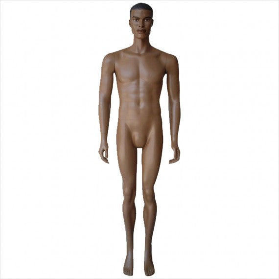 Male Mannequin with Arms by Side - StoreFixtureShowcase.com