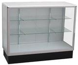 Full vision aluminum display showcases,glass display cabinets