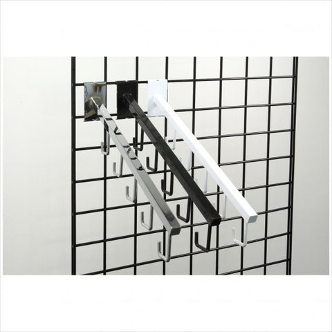 Gridwall 5 Hook Waterfall - StoreFixtureShowcase.com