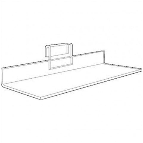 Acrylic Shoe Shelf - StoreFixtureShowcase.com