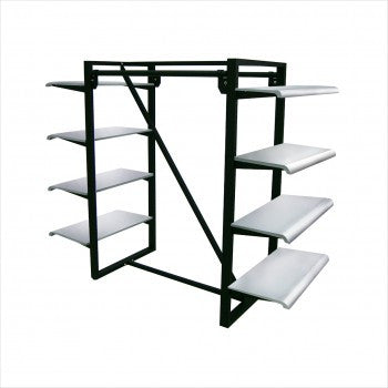Parallel Bar Rack - StoreFixtureShowcase.com