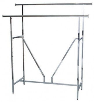 H rack with V brace - StoreFixtureShowcase.com