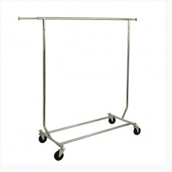 Collapsible salesman rolling rack - StoreFixtureShowcase.com