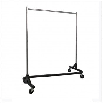Heavy duty Z rolling rack - StoreFixtureShowcase.com