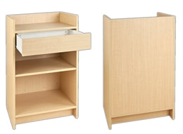Register Counter 24(L) X 20(W) X 38(H) - Inch Maple