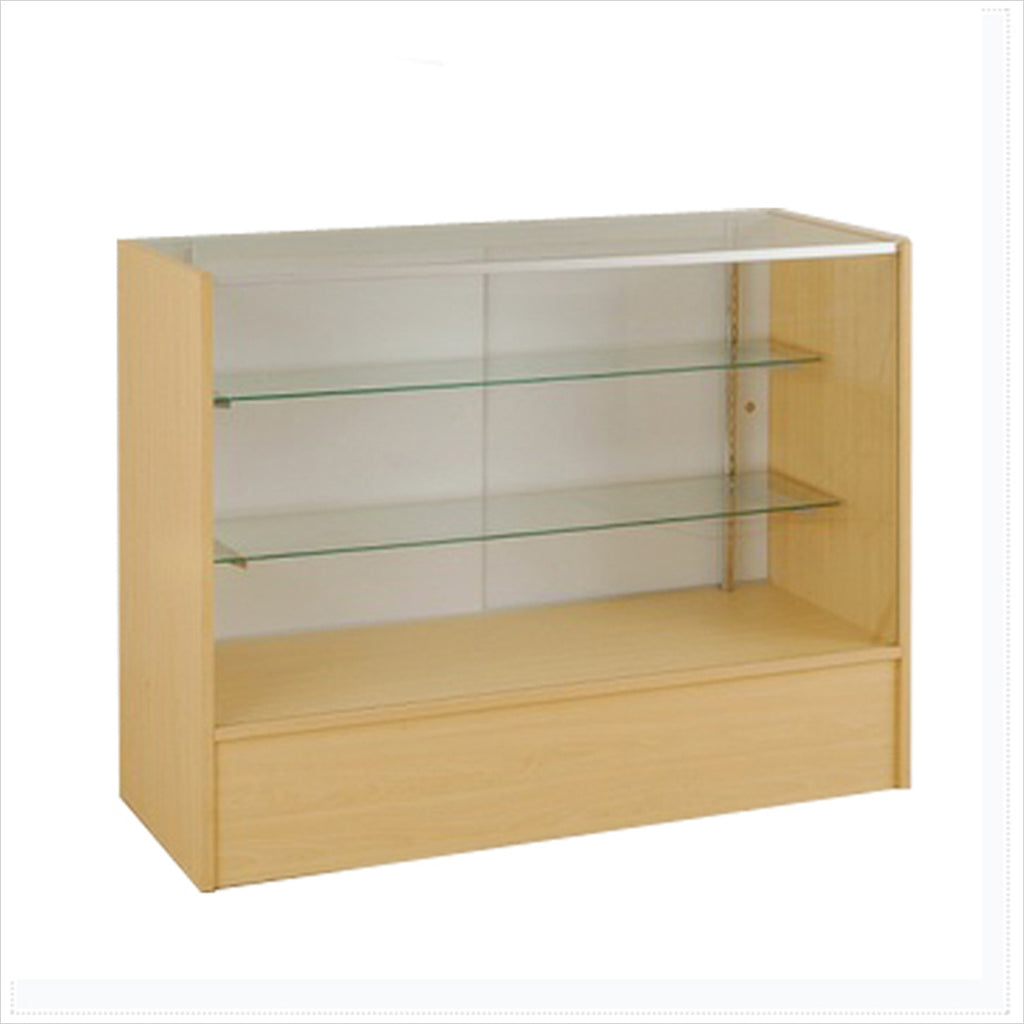 Full Vision MDF Display Showcase Cabinet