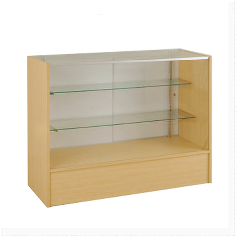 Full Vision MDF display Showcase cabinet - StoreFixtureShowcase.com - 1