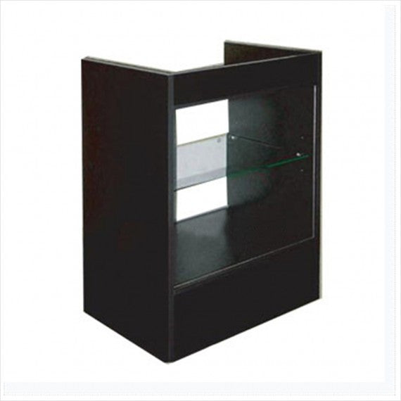 2' cash register counter black - StoreFixtureShowcase.com - 3