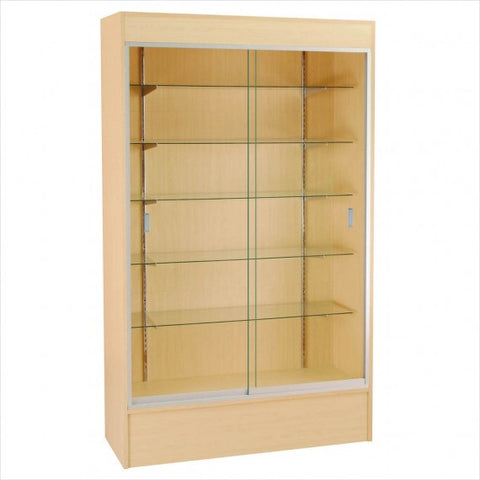 Wooden Wall display Showcase cabinet - StoreFixtureShowcase.com