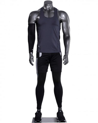 Headless male athleisure mannequin --- AO-BEN/1