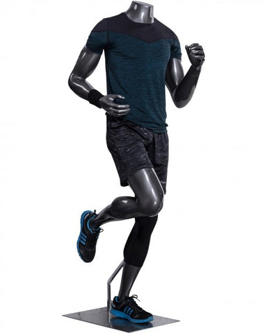 Headless male athleisure mannequin