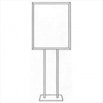Sign Holder 22(W) x 28(H) - Inch With Flat Base