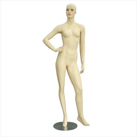 Female mannequin with Left Leg Out
