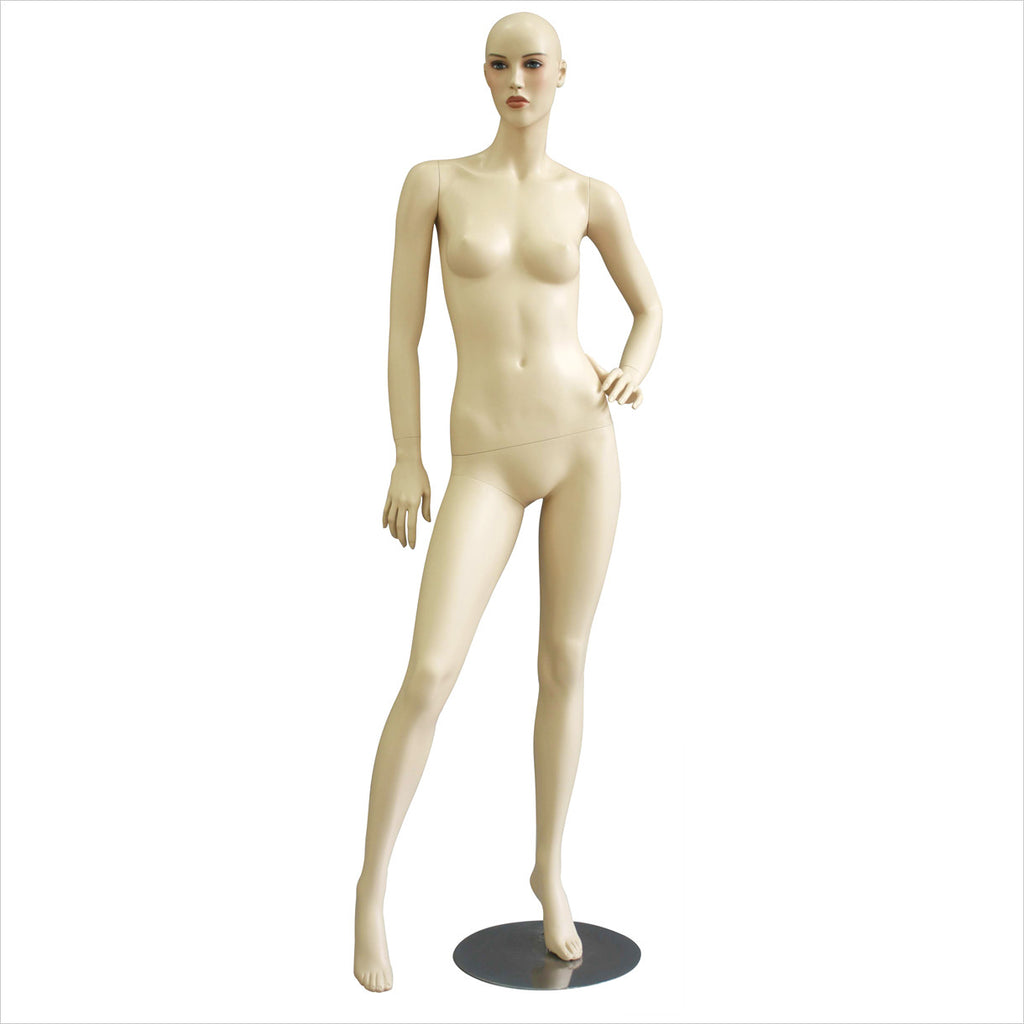 Female Mannequin with Right Leg Out