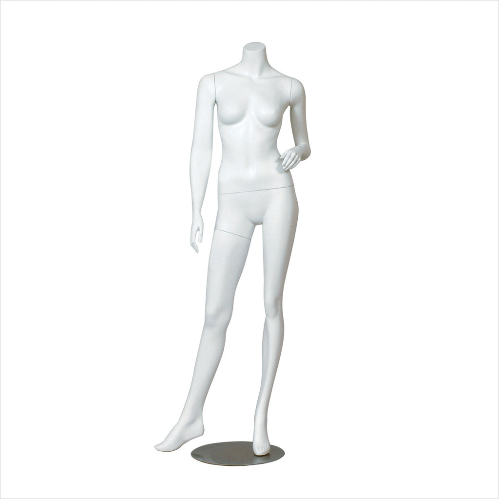 Female Mannequin with Right Leg side way