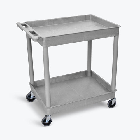 Large Tub Cart with Two Shelves ---- TC11-G