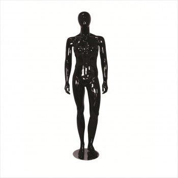 Male Fiber Glass Mannequin with Left Leg Bent - StoreFixtureShowcase.com - 1