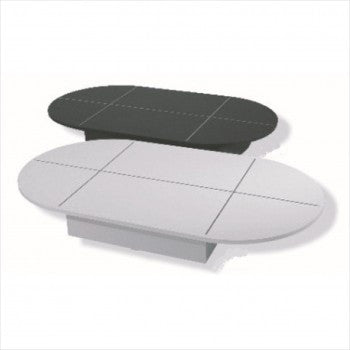 Oval Base for Glass Display, - StoreFixtureShowcase.com