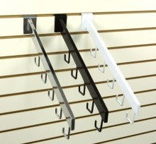 5 hook rectangular tubing waterfall - StoreFixtureShowcase.com