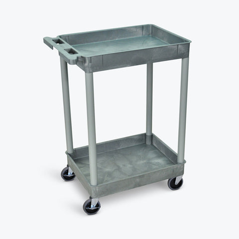 Tub Cart with Two Shelves ---- STC11-G