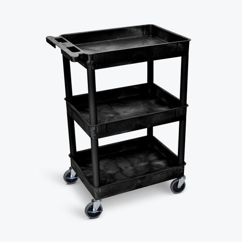 Tub Cart with Three Shelves ---- STC111-B