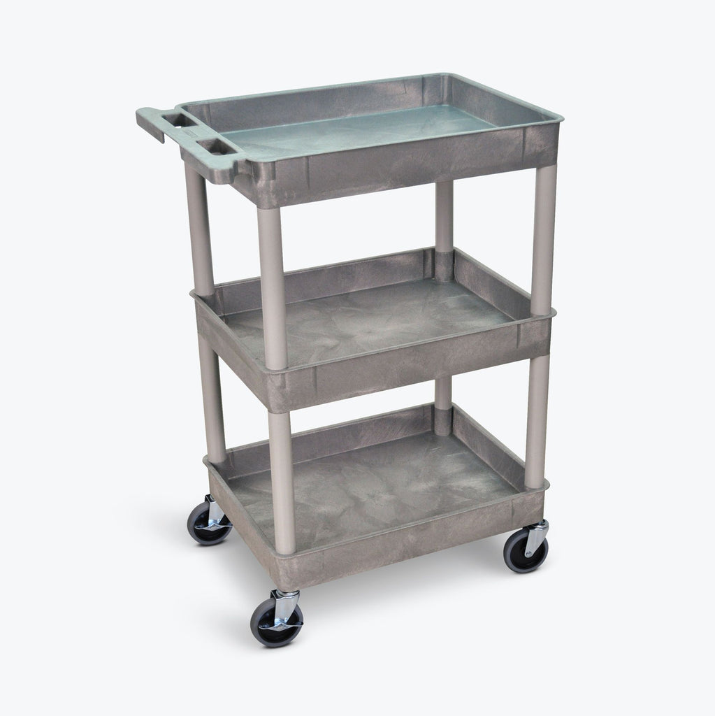 Tub Cart with Three Shelves ---- STC111-G