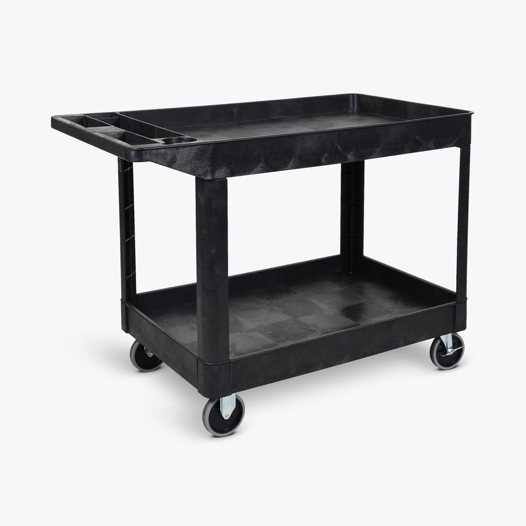 Two-Shelf Heavy-Duty Utility Cart ----  XLC11-B