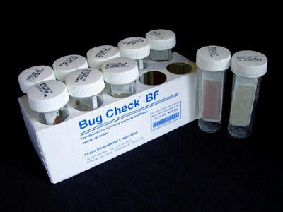 Bug Check BF - 10 Bacteria/Mold Tests per Kit