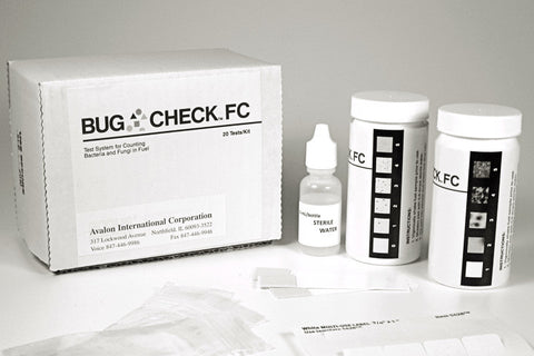 Bug Check FC -  20 Bacteria + 20 Mold Tests per Kit