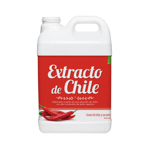 Extracto de Chile 500 ml - Insecticida Orgánico