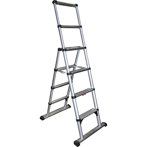 Telesteps 10' Climbing Height Combination Ladder 375lb. Max. Load