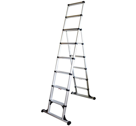 Telesteps 12' Climbing Height Combination Ladder 375lb. Max. Load