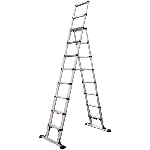 Telesteps 14' Climbing Height Combination Ladder 375lb. Max. Load