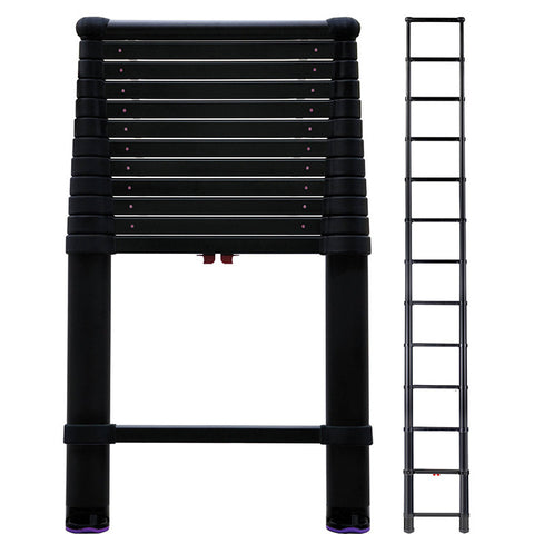 Telesteps 16' Extension Ladder-Black Tactical 300lb. Max Load