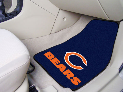 Fanmat Chicago Bears Carpeted Car Mats