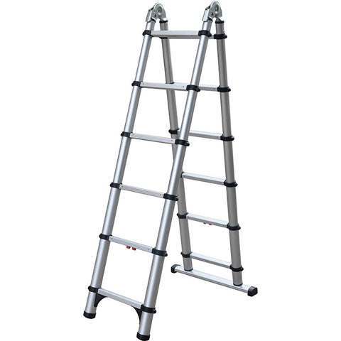 Telesteps 6' Step/11' Extention Telescopic Combination Ladder 250lb. Max Load