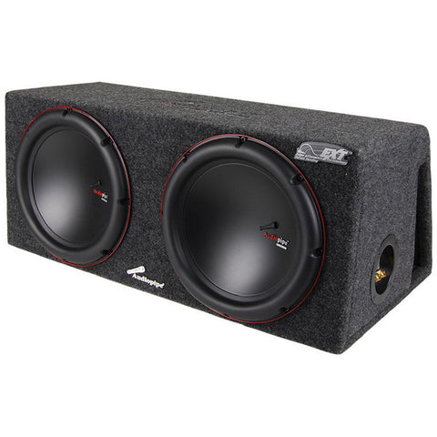 "AUDIOPIPE WOOFER ENCLOSURE DUAL 12"" PORTED; 1500 WATTS"