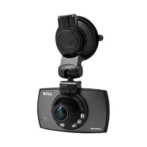"Boss Audio Video Dash Camera with HD 2.5"" Screen"