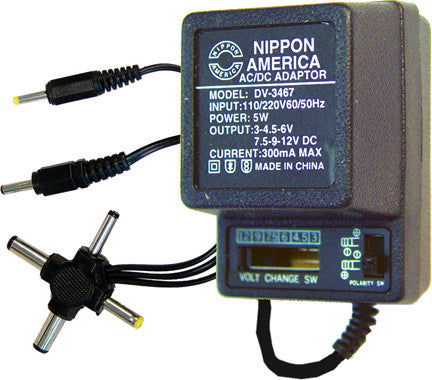 AC ADAPTER 300mA NIPPON