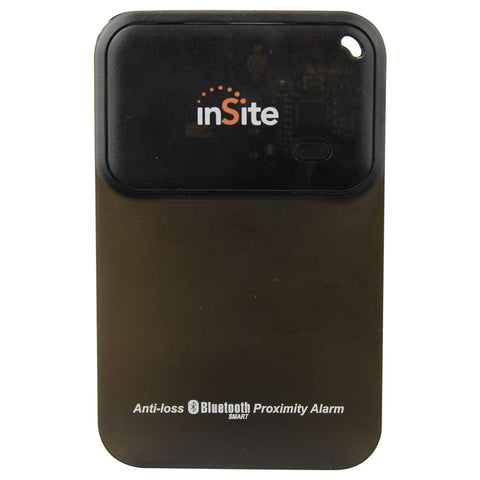 Audiovox InSite Bluetooth separation alarm wallet style