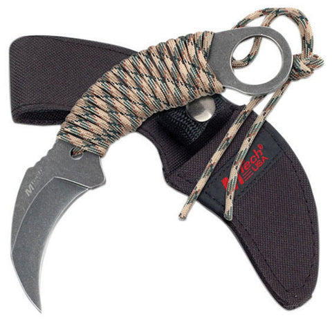 "Mtech KARAMBIT KNIFE 6.65"" OVERALL2.5"" 3.3MM THICK BLADE"