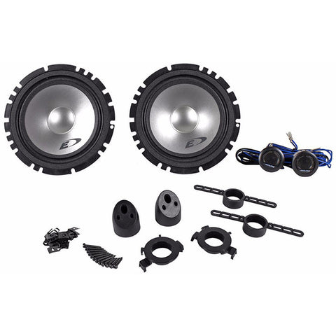 "Alpine 6.5"" 2-Way Component System 45W RMS"
