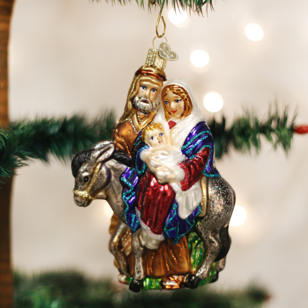 Old World Christmas Flight to Egypt Ornament
