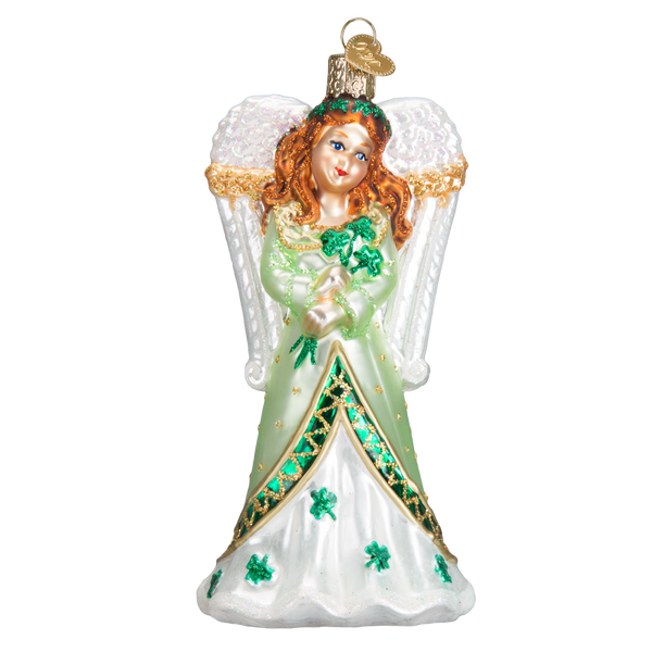Old World Christmas Irish Angel Ornament