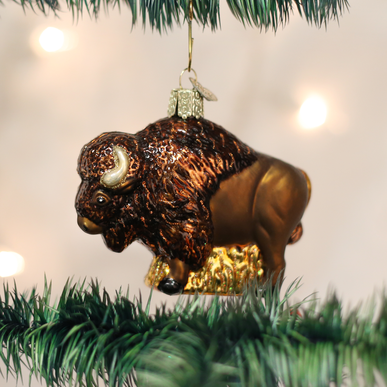 Old World Christmas Buffalo Ornament