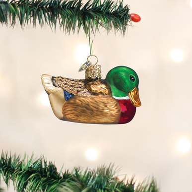 Old World Christmas Mallard
