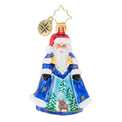 Midnight Blue Cloak Santa Little Gem