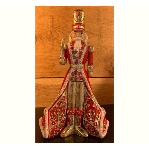 Nutcracker Figurine with Sword