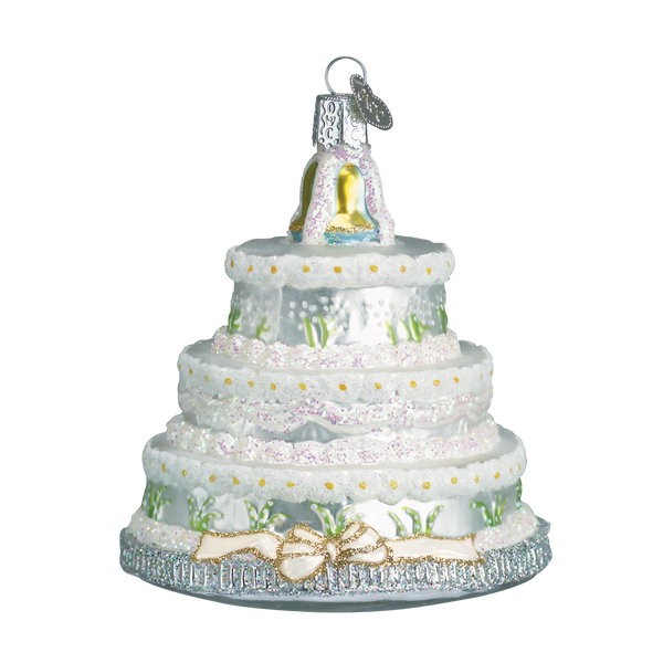 Old World Christmas Wedding Cake Ornament