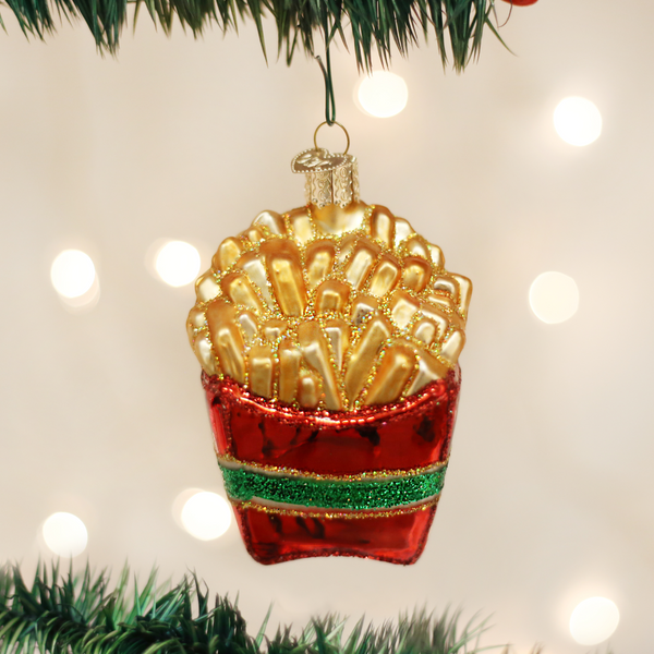 Old World Christmas French Fries Ornament